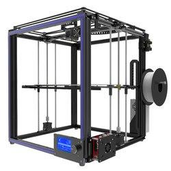 Tronxy принт большого размера области 3D принтер X5S DIY комплекты алюминиевый профиль уплотнение 12864 ЖК-дисплей контроллер Боуден экструдера бол...