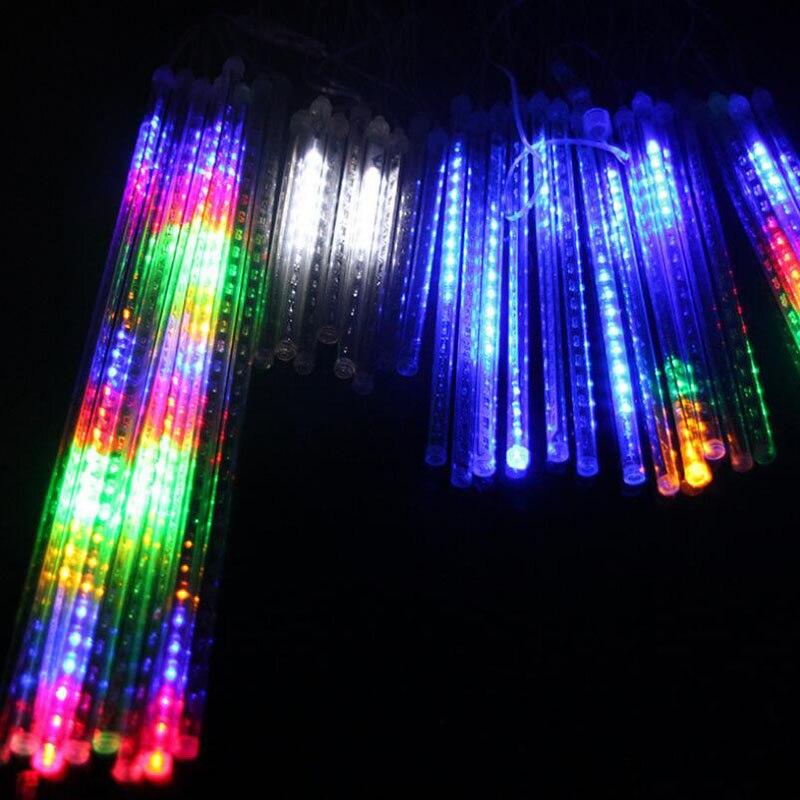 Новое поступление на Новый год продукты декоративные уличные led метеорный поток строка