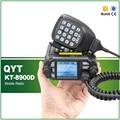 QYT KT-8900D Dual Band TX RX 136-174 MHz/400-480 MHz 25 W 200 Canais Colorido tela de Mini Rádio FM Móvel