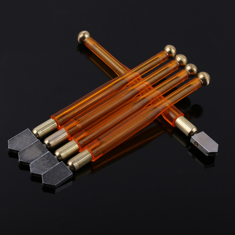 Copper Blade Wheel Rod Cutter Cutting Glazing Tipped Feed Tool Oil Glass Craft