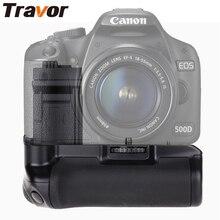 Travor Аккумулятор Ручка для Canon 450D 500D 1000D работать с BG-E5 LP-E5 или Шесть АА аккумуляторы