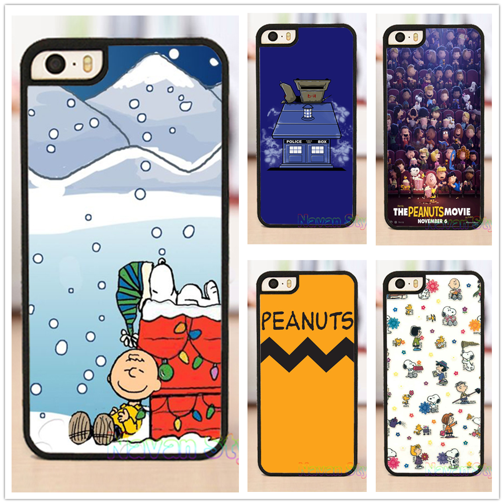 Peanuts Christmas top selling original cell phone case cover for iphone 4 4s 5 5s se 5c 6 6 plus 6s 6s plus 7 7 plus *#G2079BR