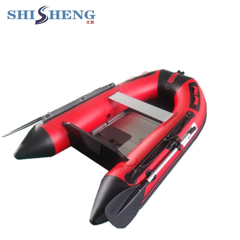 Petit voilier pas cher 2 personnes à vendre/bateau en caoutchouc gonflable/bateau en PVC 0.9mm