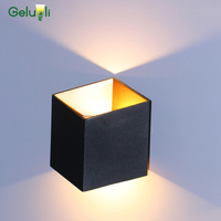 2019 New Wall Light Led Outdoor Exterior Led Wall Sconce, Waterproof IP65 Up Down Wall Lighting Fixture 6W
