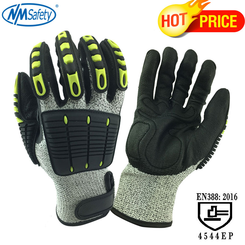 NMSafety Cut Resistant Gloves Anti Impact Vibration Oil TPR Safety Work Gloves Anti Cut Proof Shock Mechanics Impact ResistantNMSafety Cut Resistant Gloves Anti Impact Vibration Oil TPR Safety Work Gloves Anti Cut Proof Shock Mechanics Impact Resistant