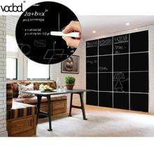 8 шт. 30x20 см съемная школьная доска наклейка s наклейки на стены для дома или офиса, декоративные наклейки на черную доску