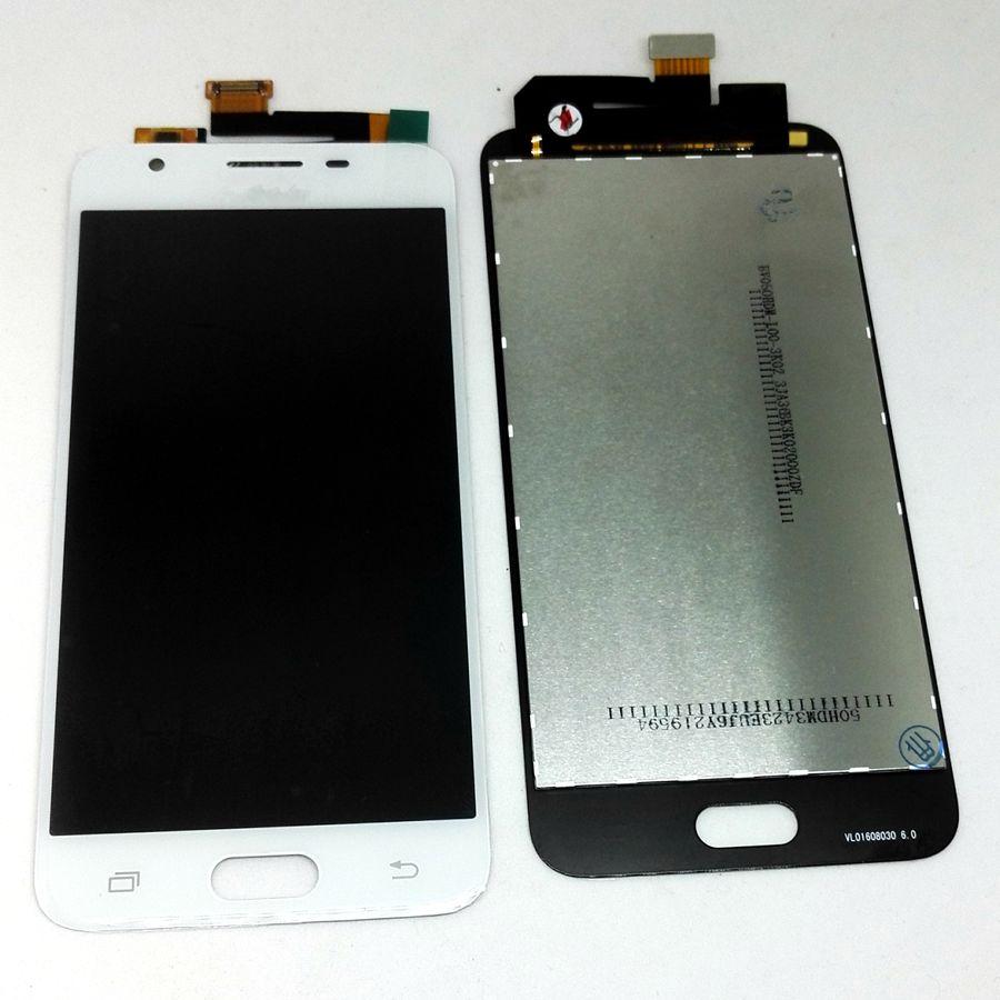 Bien testé Pour Samsung Galaxy j5 premier G570 G570F G570M/j5prime LCD tactile en verre Complet pour réparation de téléphone d'affichage