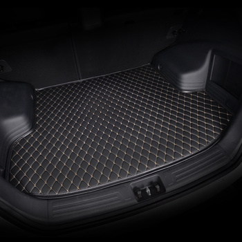 kalaisike custom car trunk mat for Mitsubishi All Models asx outlander lancer 10 pajero sport car accessories custom cargo liner