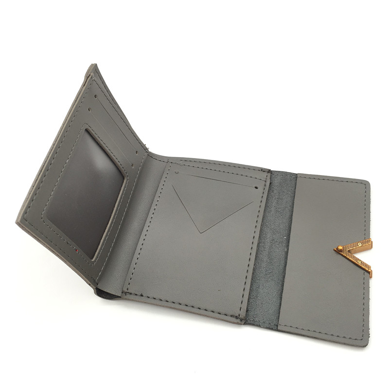 Маленький женский кошелек из матовой кожи, роскошный бренд, известные мини женские кошельки и кошельки, короткий женский кошелек для монет, кредитный держатель для карт