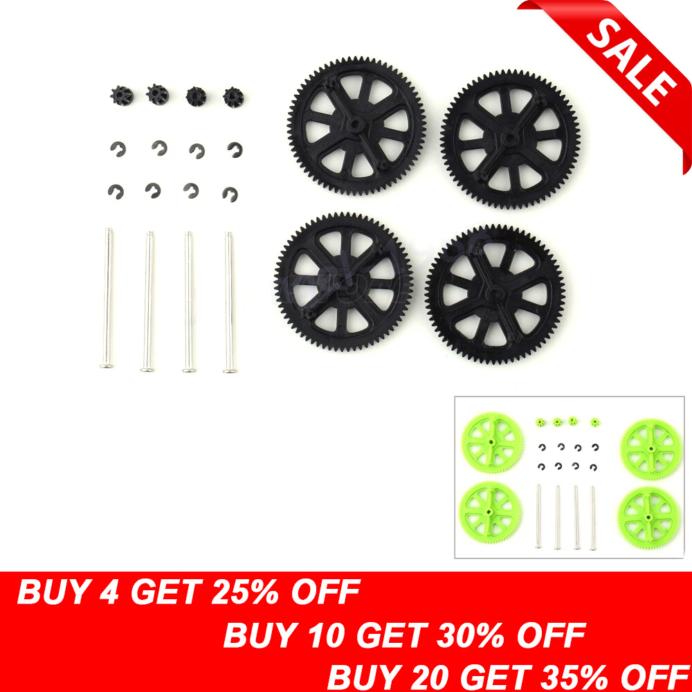 For Parrot AR Drone 2.0 Quadcopter Spare Parts Motor Pinion Gear Gears & Shaft Set
