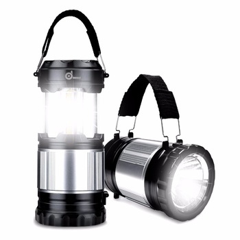 Portable Lantern LED Solar Powered Camping Light