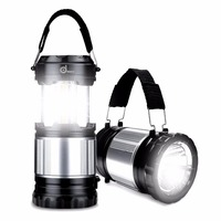 Portable Solar Camping Lantern Lamp Flashlight Waterproof Outdoor USB Charger Tent Camp Light For Climbing