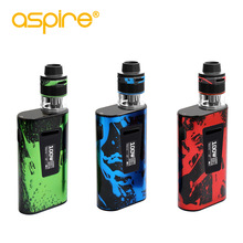 Stock Offer Original Aspire Typhon Revvo kit con batería reconstruida 5000mAh Typhon 100W Mod y 3.6ml Revvo Tank Electronic Cigar