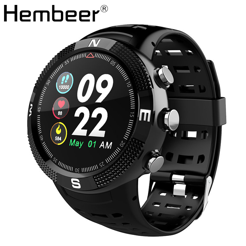 Hembeer H18 Smart Watch Waterproof Fitness Tracker Heart Rate Monitor Activity Tracker Women Men Smartwatch for xiaomi iPhone colmi v11 smart watch ip67 waterproof tempered glass activity fitness tracker heart rate monitor brim men women smartwatch