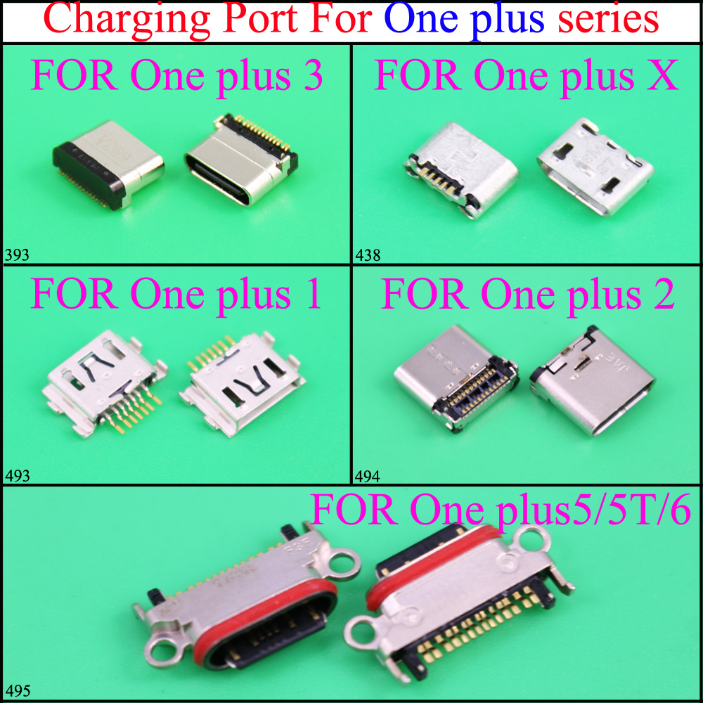 Yuxi Charge-Socket Jack Micro-Usb One-Plus for 1/2-3x5/5t/..