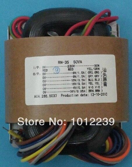 R -Core  Transformer 50W / 170 V +6.3 V Power Supply Transformer /  Tubes / 115V-230V International Voltage