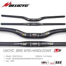 ULLICYC CB398 Newest HOT SALE Mountain Bike Full Carbon Handlebar(Flat/Rise)31.8*580/600/620/640/660/680/700/720/740mm free ship
