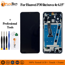 100% Tetsed Brand New LCD For 6.15 Huawei P30 Lite LCD Display Screen+Touch Panel Digitizer Assembly For Huawei Nova 4E Display new lcd panel for dmf50174