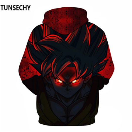 TUNSECHY Brand Dragon Ball 3D Hoodie Sweatshirts Men Women Hoodie Dragon Ball Z Anime Fashion Casual Tracksuits Boy Hooded 47