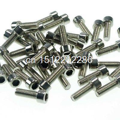 Lot25 Metric Thread M6*100mm Stainless Steel Hex Socket Bolt Screws m6 screws low profile cap screws socket head hex bolt stainless steel metric fastener