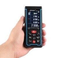 SNDWAY SW S100 100M Handheld Laser Distance Meter Range Finder Trena Laser Tape Measure Distance Tool Rangefinder