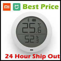 In Stock Xiaomi Mijia Bluetooth Hygrothermograph Hygrometer Thermometer High Sensitive LCD Screen Magnetic Sticker Low Consume