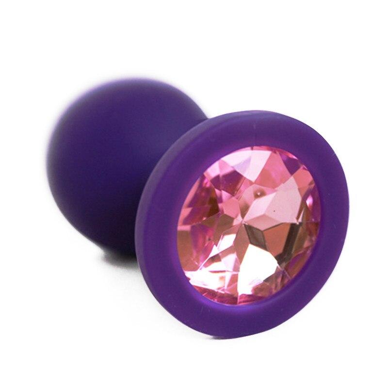 Sissy Delight Jeweled Butt Plug-7235