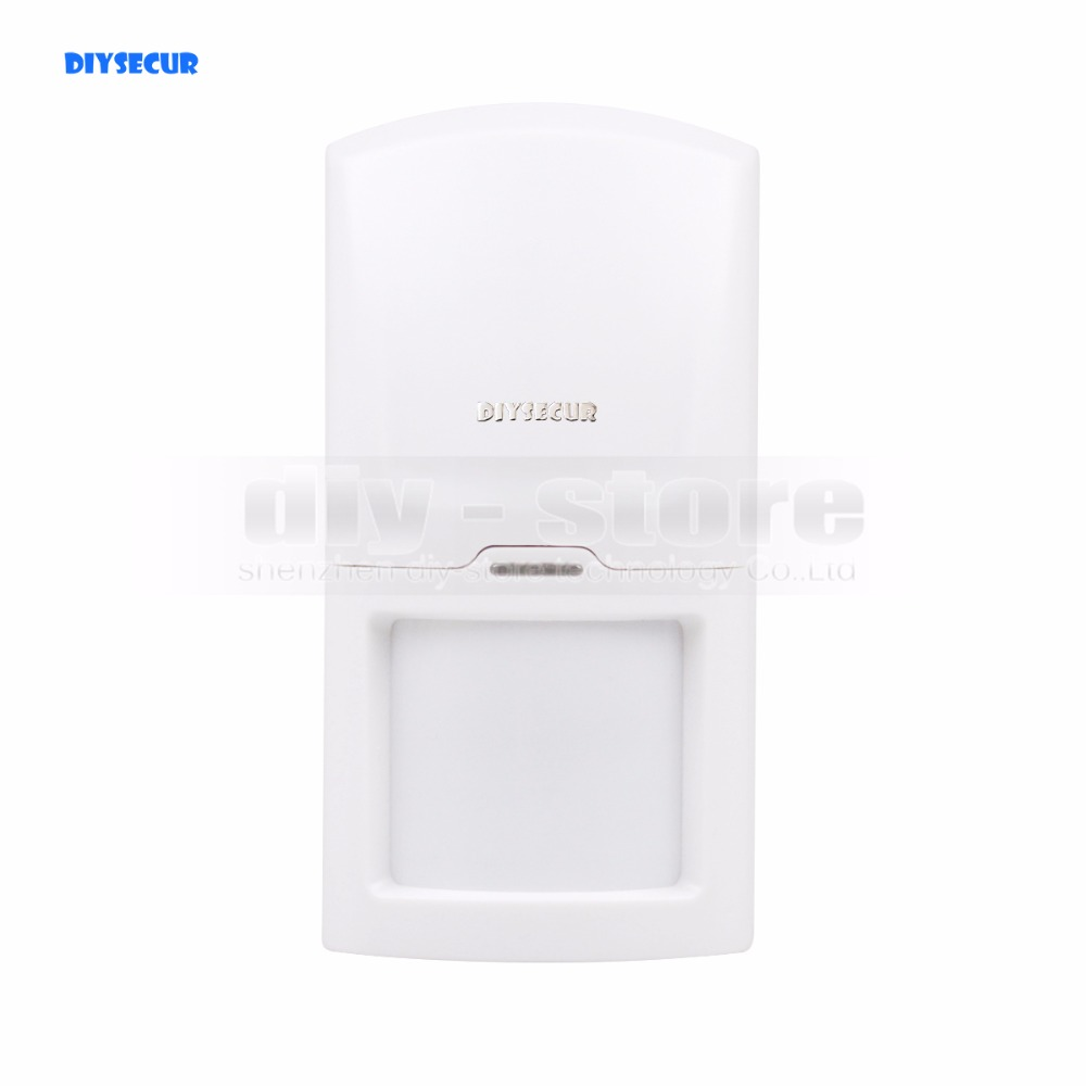 DIYSECUR K4 Wireless 433Mhz PIR Detector IR Motion Sensor for Our Related Home Alarm Home Security System free shipping wireless pir detector for home alarm home security system 433mhz motion sensor