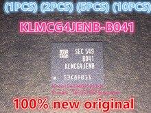 (1 шт.) (2 шт.) (5 шт.) (10 шт.) 100% Новый оригинальный KLMCG4JENB-B041 BGA микросхемы памяти KLMCG4JENB B041