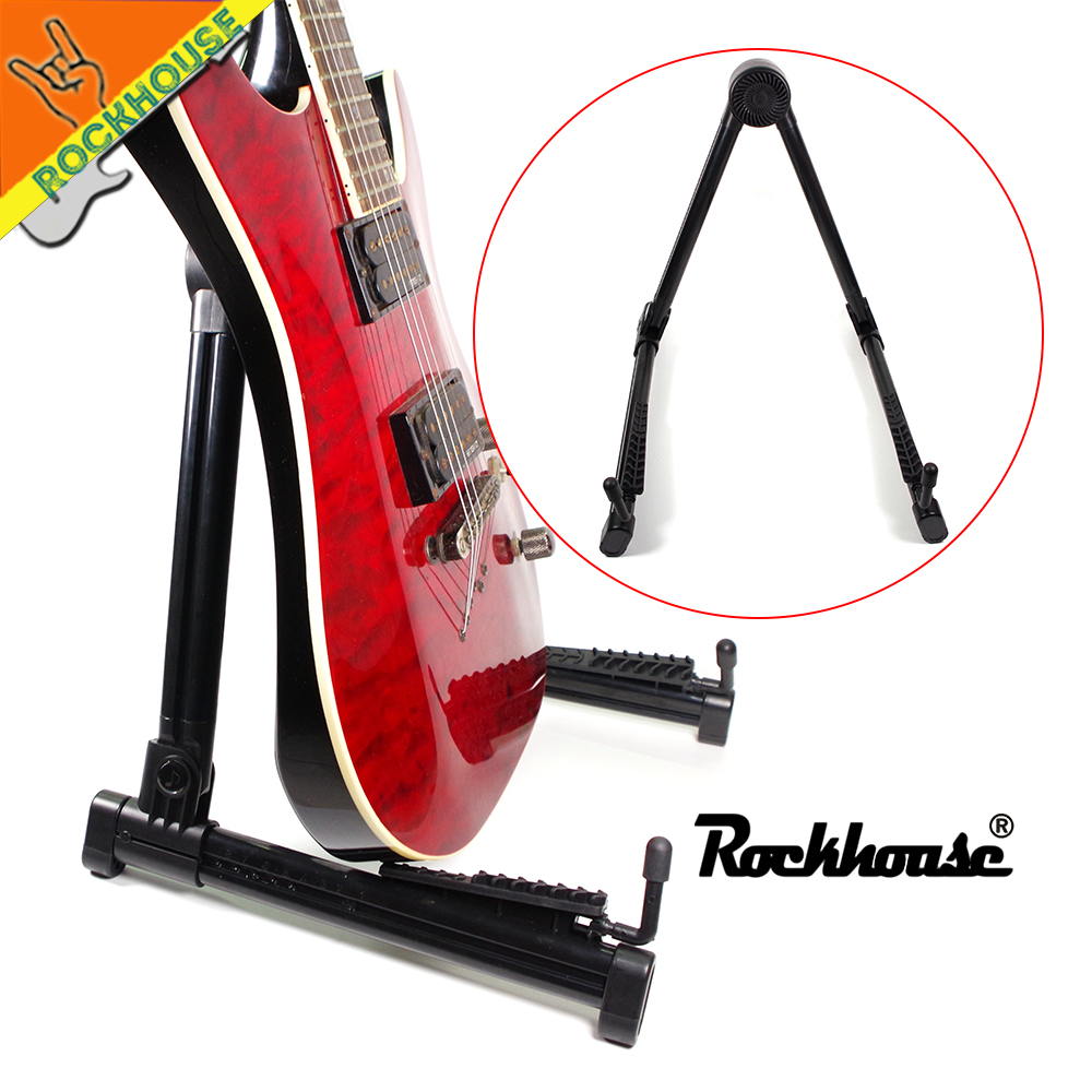 Fordable Guitar Stand Use To Acoustic/ Electric/ Classic Guitar, Bass, Ukulele, Violin, Light Portable And Durable