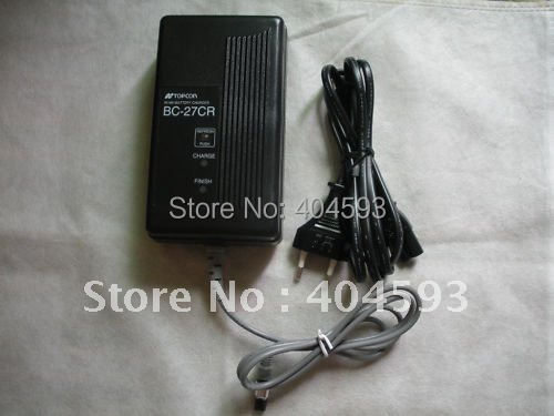 whole sale TOPCON Total Station Battery Charger BC-27CR for BT-52Q free shipping good quality
