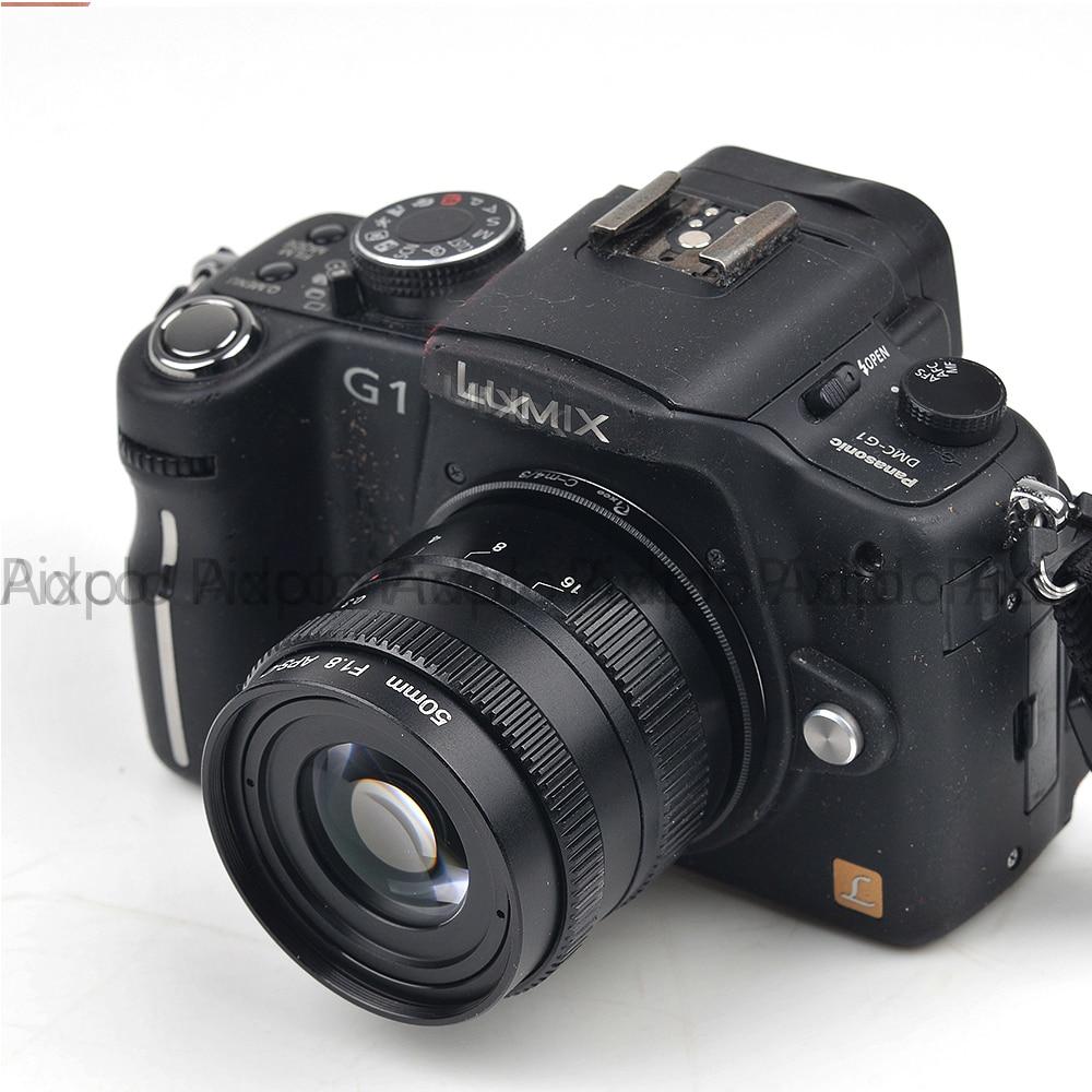 Pixco 50mm F1.8 Odak infinity Televizyon TV Lens / CCTV Lens f / 1.8 - Kamera ve Fotoğraf - Fotoğraf 2