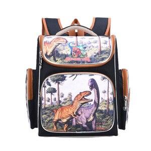 Image 3 - New Bag for School Children School Backpack Boys 3D Animal Dinosaur Knapsack Kids Satchel Space School Bags Mochila Escolar