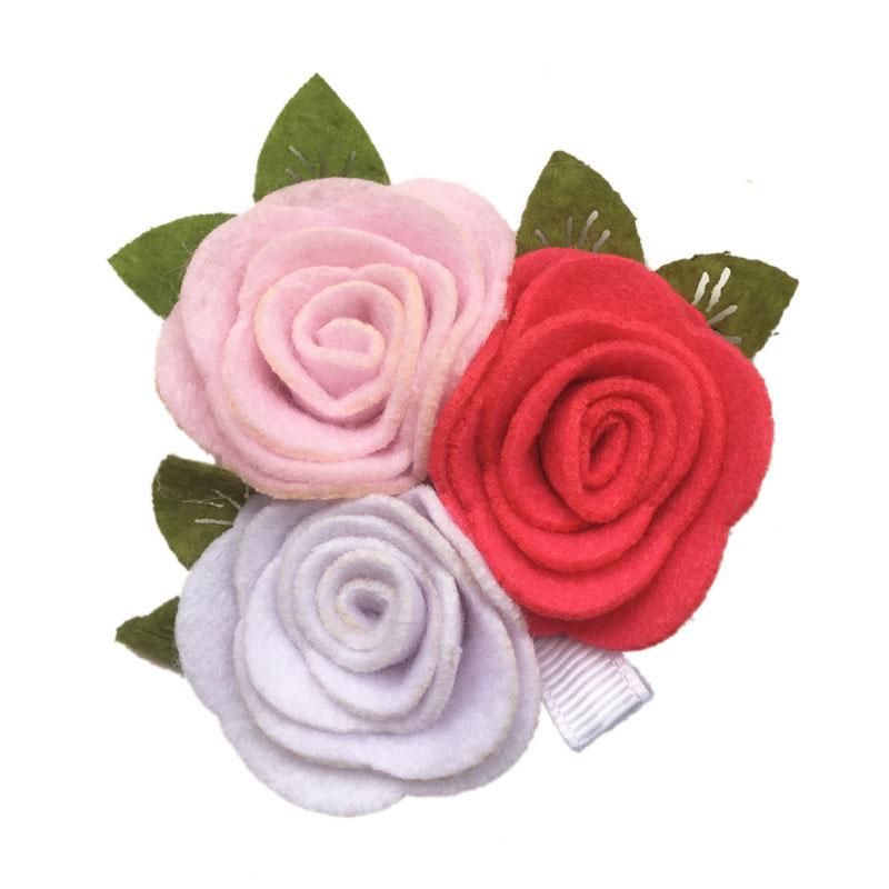 White Garden Rose Hair popular black rose hair clip-buy cheap black rose hair clip lots