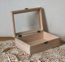 ZAKKA стиль деревянный коробки стеклянные коробки/цвет рабочего коробка для хранения организатор офисный стол