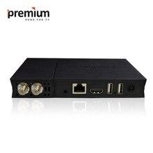 10 pçs/lote S905X 1G + 8G 4 K H.265 Amlogic Android 6.0 Caixa de Tv Ipremium I9 Pro Com DVB-S2 DVB-T2 DVB-C