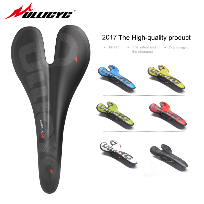 full carbon fiber road mountain bike saddle carbon saddle seat cushion ultralight MTB Road Fold Bike Front Seat 90g ZD128 newest mountain bike 3k carbon fiber full carbon saddle bicycle saddle road front seat cushion matte mtb