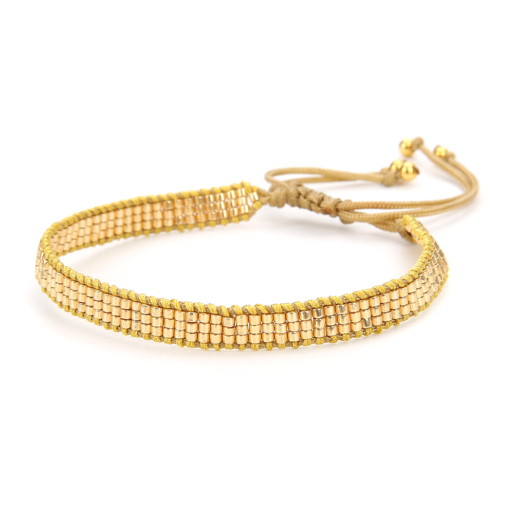 Go2boho Bracelet For Women MIYUKI Pulseras Mujer Evil Eye Bracelets Delicas miyuki Jewelry Gold Kiss Handmade Gift Dropshipping in Charm Bracelets from Jewelry Accessories
