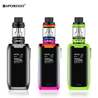 Vaporesso Revenger X Kit 220W Electronic Cigarette Mod 2ml 5ml NRG Tank Vape Kit Support Coil GT4 GT8 Atomizer with Touch Button