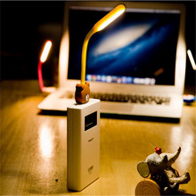 Creative Flexible Portable Mini Cartoon USB LED Light Lamp