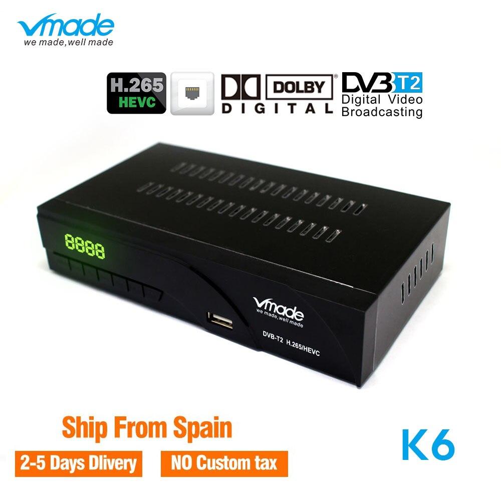 HD Terrestrial Receptor Digital DVB-T2 Receiver tv tuner Convertor IPTV Youtube