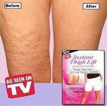 Instant thigh lift makes thighs look firm and younger slimming thigh leg shaping transparent lifting strips AS SEEN ON TV