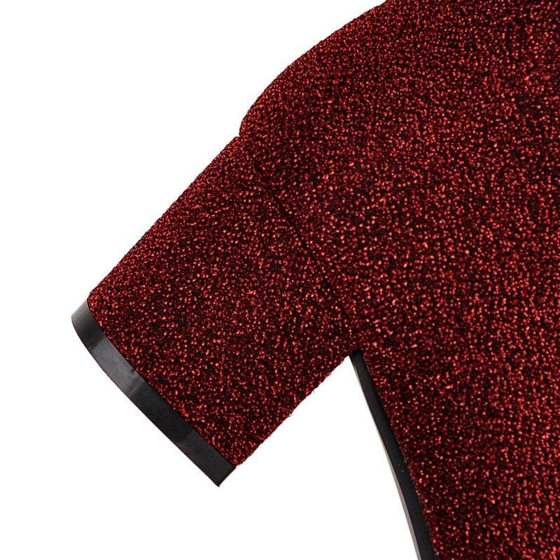 Die Heels Größe rot Neue Knie Winter Große Über grau Schuhe Herbst Damen Platz brown 42 Schwarzes 43 Stiefel Med Nemaone Shiny Frau Z8wS1Zx