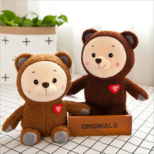 30cm Love Heart Bear Soft Plush Toy Stuffed Animal Plush Doll Creative Gift Send to Children & Friends стоимость