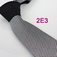 Yibei Coachella Галстуки контрастный черный узел Серебряный горошек галстук формальные Средства ухода за кожей шеи галстук микрофибры для взрослых Для Мужчин's Средства ухода за кожей шеи галстук 8.5 см corbatas 2e3