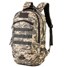 Мужская Высокое качество прочный нейлон военный камуфляж нападение рюкзак ноутбук сумка рюкзак