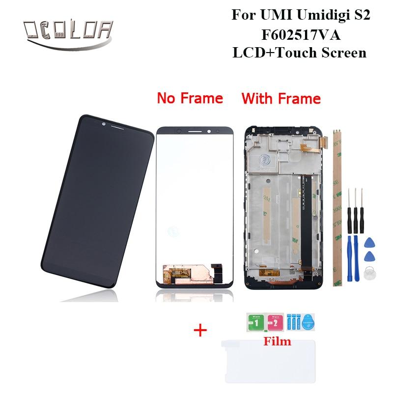 "Ocolor สำหรับ UMI Umidigi S2 F602517VA จอแสดงผล LCD หน้าจอสัมผัส + กรอบ + เครื่องมือ 6.0 ""สำหรับ UMIDIGI S2 เปลี่ยนอุปกรณ์เสริม + ฟิล์ม-ใน จอ LCD โทรศัพท์มือถือ จาก โทรศัพท์มือถือและการสื่อสารระยะไกล บน AliExpress - 11.11_สิบเอ็ด สิบเอ็ดวันคนโสด 1"