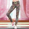 Мода высокого качества quick dry Богатые и красочные Женские брюки Леггинсы Фитнес брюки лодыжки длины брюки