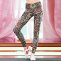 Moda de alta qualidade quick dry Rico e colorido calças Leggings Mulheres calças de Fitness calças do tornozelo-comprimento