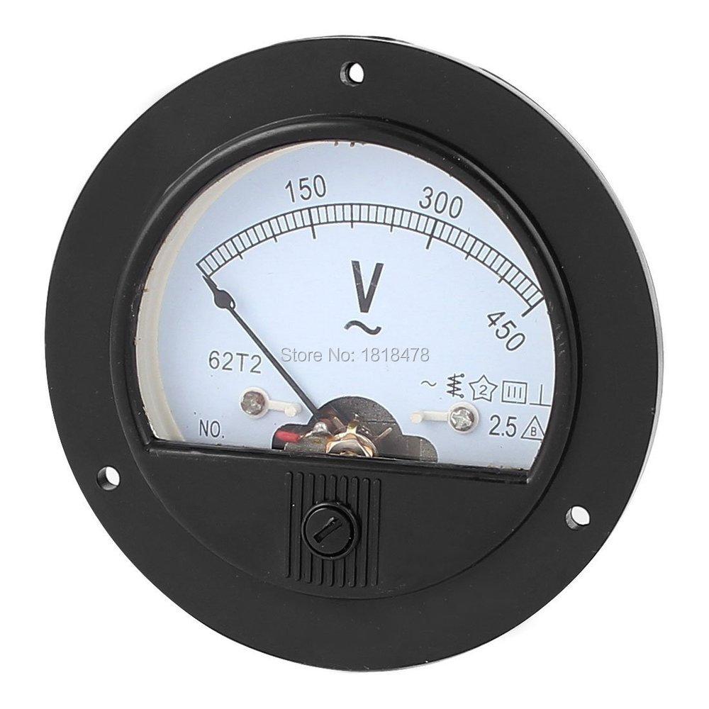 Аналоговый вольтметр 62T2, измеритель напряжения, класс 450, переменный ток 0-150 в, 250 В, 300 В, 500 в